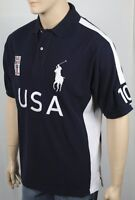 Ralph Lauren Navy Blue Classic Fit USA Big Pony Polo NWT
