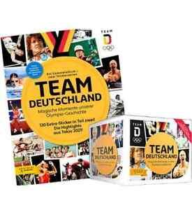 Panini Team Deutschland Teil I Olympia Komplett Set 157 Sticker / Album / Tüten