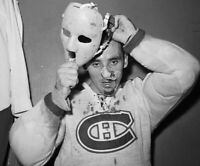Jacques Plante Montreal Canadiens Unsigned 8x10 Photo (B)