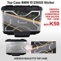 Adesivo valigia TOP CASE BMW R1250GS exclusive mod. rosa dei venti K50 dal 2013