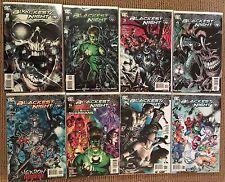 DC Comics Blackest Night 1-8 + Ring + 2 Additional Blackest Night Tie-Ins