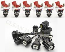 Fit Nissan 300ZX Phase 1 2 VG30DE 3.0L none turbo z32 275cc 26lb fuel injectors