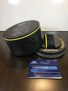 FESTINA Le Tour de France Empty Watch Display Box With Booklet Only