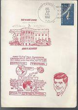 1962 1st Active Free Enterprise Satellite for Communications, Telstart Kennedy