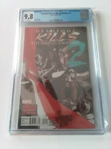 Deadpool Kills the Marvel Universe 2 CGC 9.8