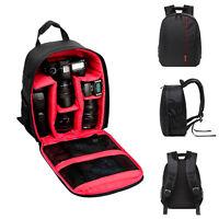 Fashion  For Nikon For Sony Waterproof DSLR Camera Backpack Shoulder Bag Case