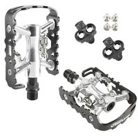 "VP X82 Alloy 9//16/"" Multi-Use Shimano SPD Type Mountain Bike Sealed Pedals"