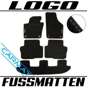Fussmatten für Seat Alhambra 710 Bj. 2010- Fußmatten Autoteppiche LOGO