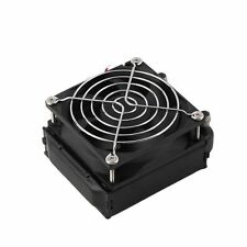 Aluminum 80mm Water Cooling cooled Row Heat Exchanger Radiator+Fan for CPU PC XP