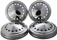 Set of 4 Hubcap fit for Mopar Police Dog Dish Hub Caps Dodge Plymouth