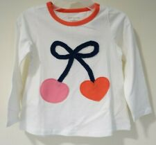 Bnwt Macy's First Impressions Cherry & Heart Top Girl's Size 3T