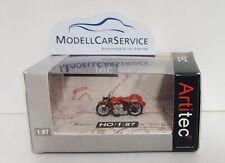 """Artitec 1/87: 387.29 US Motorrad Harley-Davidson """"Liberator"""", rot, mit Beiwagen"""
