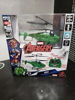 WORLD TECH TOYS  HULK w/ FIGURE MARVEL Avengers HELICOPTER Z7