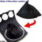 Leather Shift Shifter Boot For Nissan 350z 2003-2008 Manual Transmission Black