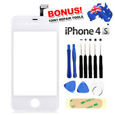 OZ Best Digitizer Touch Glass Screen Replacement for iPhone 4 4S White