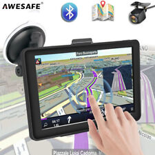 7 zoll AWESAFE Navigationgerät Rückkamera GPS Navi Für LKW PKW EU-Karten FM