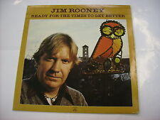 JIM ROONEY - READY FOR THE TIMES TO GET BETTER - LP VINYL 1980 APPALOOSA