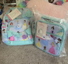 Pottery Barn Kids Small Princess Backpack And Classic Lunch Bag