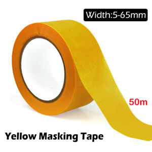 Painting Masking Tape Adhesive  5-65mm x 50M Sticker Sticky Writable Roll