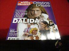 """""""FRANCE DIMANCHE H.S."""" Special Dalida, Linda DE SUZA, Celine DION, Carlos"""