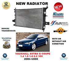 FOR OPEL ASTRA G COUPE 1.4 1.6 1.8 2.2 16V 2000->2005 NEW RADIATOR OE QUALITY