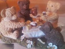 GOEBEL BEAU BEAR / BÄR GERMAN COLLECTORS EDITION from 90 ies THE TEA PARTY