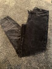 Ladies Lucky Brand Ava Grey Super Skinny Jeans - Size 26 (10) Worn Once!!