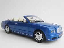 Bentley société azur 2006 1/18 MINICHAMPS Convertible blue Convertible Cabriolet 100139501