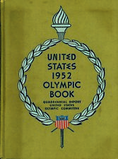 Olympic Games Olympische Spiele 1952 Offizieller Bericht USA Official Report