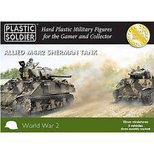 Plastic Soldier Allied M4A2 Sherman Tank 15mm