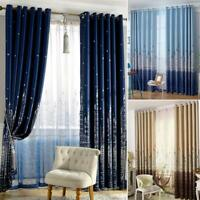 Castle Blackout Curtain Window Shading Screen Cloth Bedroom Curtain L&6