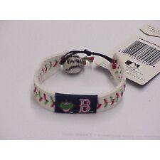 MLB Leather Wrist Band MLB Team: Boston Red Sox, Style: Mascot