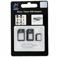 Nano Micro Simkarten Adapter 3 in 1 Kartenadapter mit Pinnadel für iPhone #073