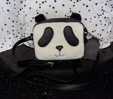 Panda Purse Plush Bag Cross Strap New
