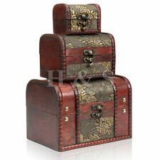 Wooden Antique Earrings Jewellery Boxes
