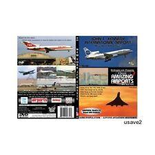 Airutopia New York JFK -John F Kennedy Airport Airplane Aircraft DVD Video-New