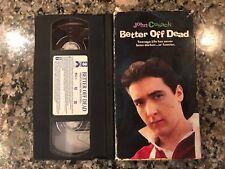 Better Off Dead Vhs! 1985 Teen Romance! Sixteen Candles Some Girls Teen Wolf