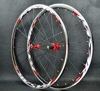 Road bike ultra light sealed bearing 700C wheels wheelset 1690g 30mm Rims