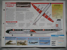 Aircraft of the World Card 43 , Group 2 - Vickers Vanguard