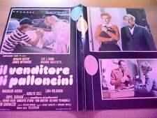 Fotobusta IL VENDITORE DI PALLONCINI 1975 Renato Cestiè, Marina Malfatti (2)