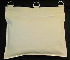 IRON PALM Kung Fu Wall Bag White 1 Section - 13 inch x 11 inch