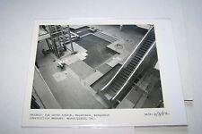 #1746 PHOTO  - MILWAUKEE WI GRAND AVENUE MALL CONSTRUCTION - 6/3/82 ESCALATOR