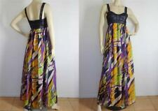 WISH Silk Maxi Dress sz M/12 NWT $199