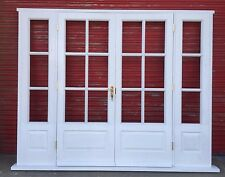 Hardwood Timber Georgian style French Doors with sidelights! Made to measure!