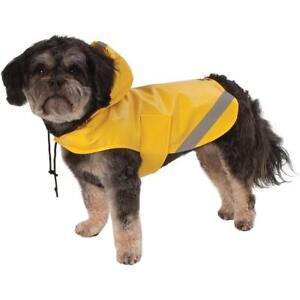 PETRAGEOUS DOG RAIN COAT LONDON SLICKER LARGE (NO RETURNS). TO THE USA