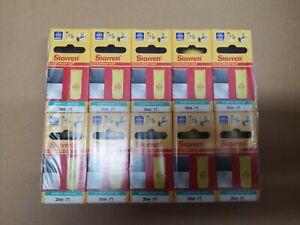 Pack of 10 New 25mm Starrett Bi Metal Hole Cutters