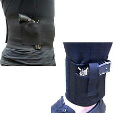 "30""-38"" M Size Concealed Belly Band Holster and Ankle Holster Pistol Holster Set"