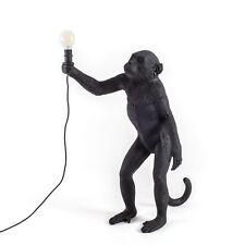 Seletti Scimmia in Piedi Lampada Da Terra Pavimento Nero o lampada da tavolo per esterni o interni
