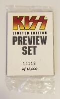 Kiss 1997 Cornerstone Preview Card Set Series 1