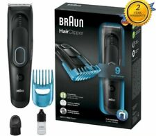 Braun HC5010 Mens Hair Clippers Cordless Rechargeable Electric Trimmer Shaver
